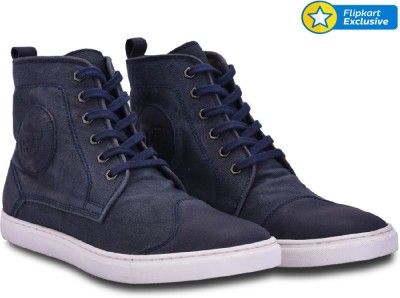 Royal Enfield Alston - Washed Canvas Sneaker Casuals