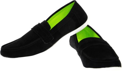 Ziesha Zms507black Loafers Shoes