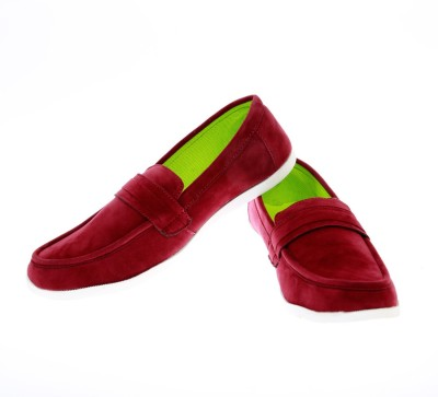 Ziesha Zms507maroon Loafers Shoes