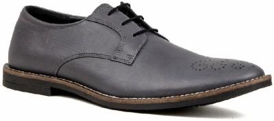 Nudo Sheen Grey Lace Up Shoes
