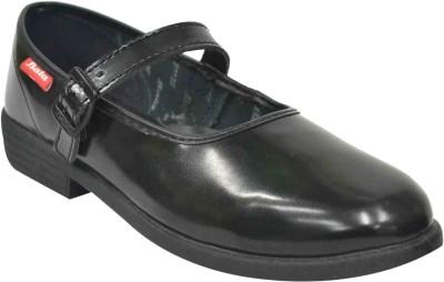 Bata Girls Black School Shoe