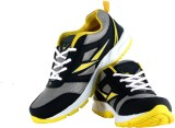 Trendfull 5008 Cricket Shoes (Black, Yel...