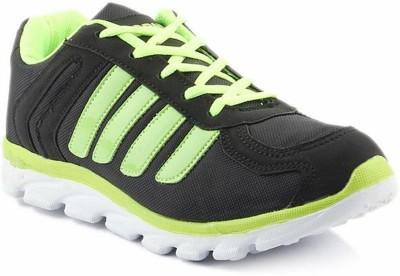 Dox Dos_SM413_Black&green Walking Shoes