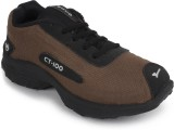 Pasco Running Shoes (Black, Brown)