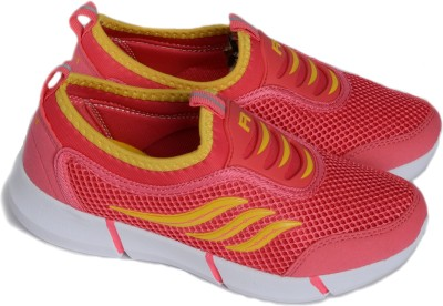 QBA Running Shoes, Walking Shoes(Pink)