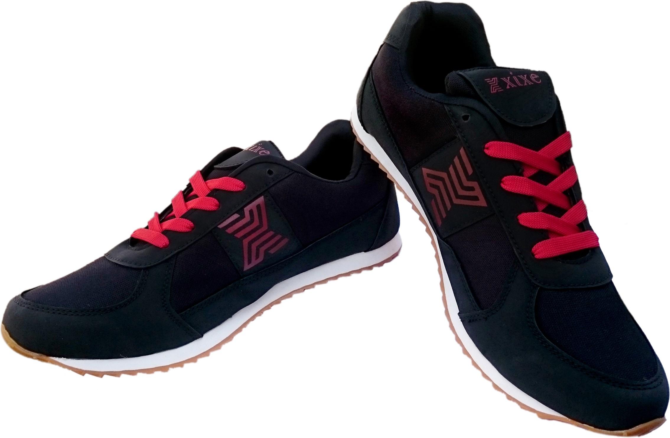 xixe black rd walking shoes running shoes