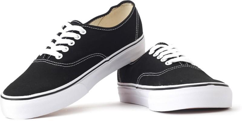 VANS Men Sneakers(Black)