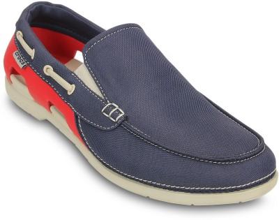 Crocs Boat Shoes(Navy)
