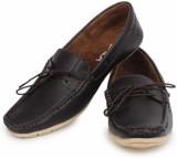 Demyra Boat Shoes (Black)