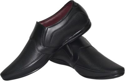Human Steps Black Slip On
