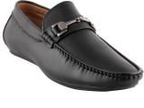 Smart Wood 3501 BLK Loafers (Black)