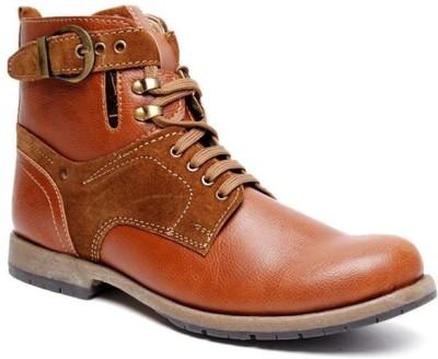 Bacca Bucci Tan Boots(Tan)