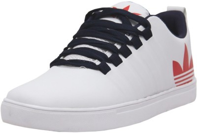 Black Tiger Men's Synthetic Leather Casual Shoes 8061-White-8 Casuals