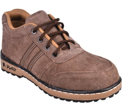 Udenchi Suede Leather Steel Toe Safety Casuals