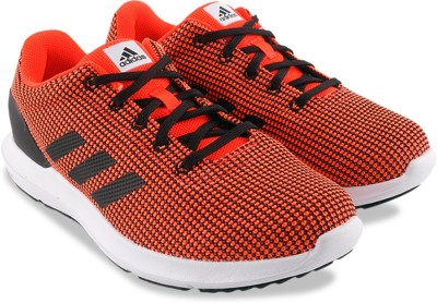 Adidas COSMIC M Running Shoes(Black, Red)