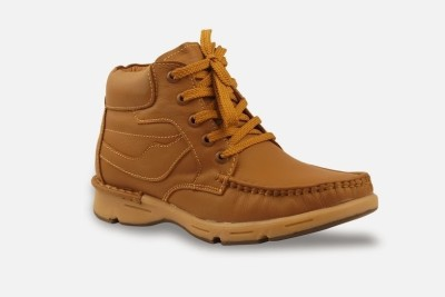 Bacca Bucci Men Tawyer Evo Leather Casual Boots