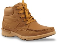 Bacca Bucci Men Tawyer Evo Leather Casual Boots(Tan) best price on Flipkart @ Rs. 1617