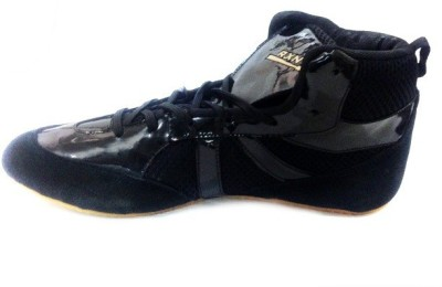 RXN Black Boxing & Wrestling Shoes(Black)