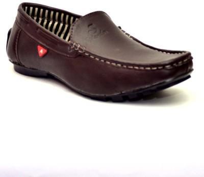 Vogue Guys Dark Brown Loafers