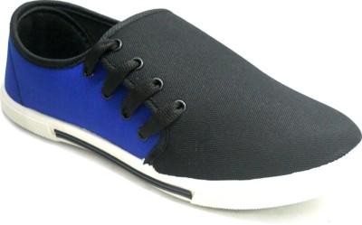 TerraVulc Blue and Black Canvas Shoes