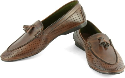 DeVEE Non-essential Philipp Brown Loafers