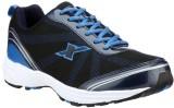 Sparx Running Shoes (Black, Blue)