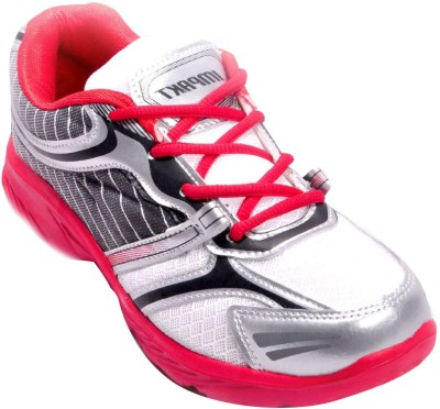 Ajanta Impakt Men's White Running Shoes