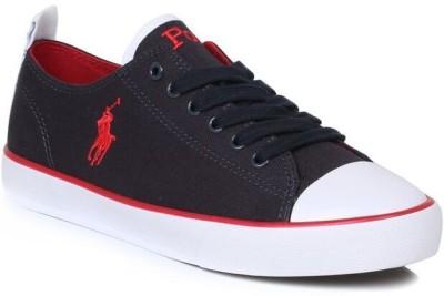 Ralph Lauren Lauren Junior Whereham Low Navy Trainers Casual Shoes