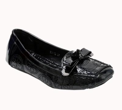 Lds Br117black Loafers