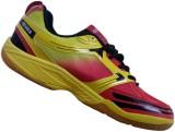 APACS CP 039 Badminton Shoes (Yellow, Re...