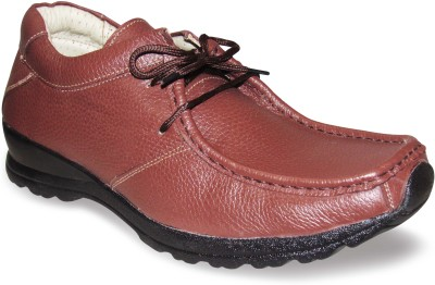 Sapatos Brown Genuine Leather stylish Outdoors Shoes