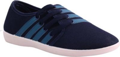 Gasser Lionblue Canvas Shoes