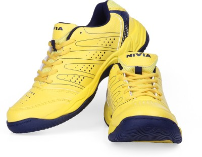 Nivia Zeal Tennis Shoes(Yellow)