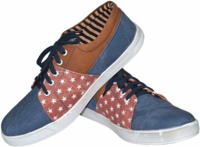Strive Star Print Canvas Shoes