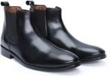 Brune Black Genuine Leather Chelsea Form...