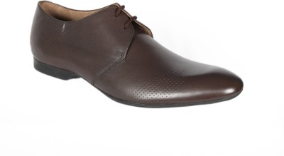 Royal Mile Brown Leather Derby shoes Lace Up Shoes