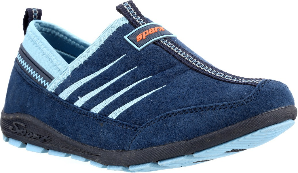 Sparx Stylish Navy Blue Royal Blue Canvas Shoes(Navy, Blue)
