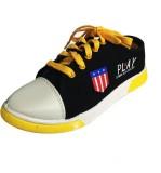 Fuoko PLAY Sneakers (Black, Yellow)