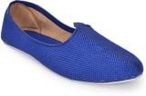 Retailxpert Blue Jute Punjabi (Blue)