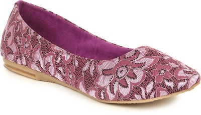 Lovely Chick Lovely Chick PURPLE Women Casual Ballerinas CP-FLW-PURPLE Casual Shoe