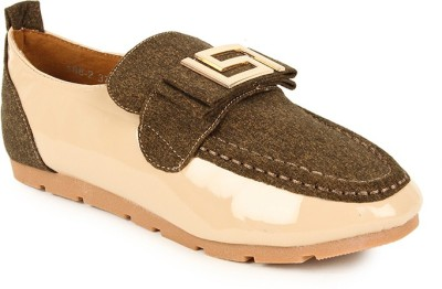 Lyc Beige Casual Shoes