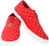 Sats Star print Casuals (Red)