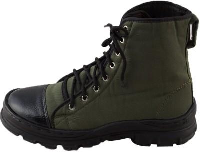 Adduce Ar-125-O-Green-Jungle-Shoe-9 Boots