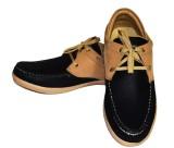 Fashion67 Beige Casual Shoes (Black)