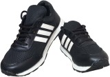 Shaan Fighter Running Shoes (Black)