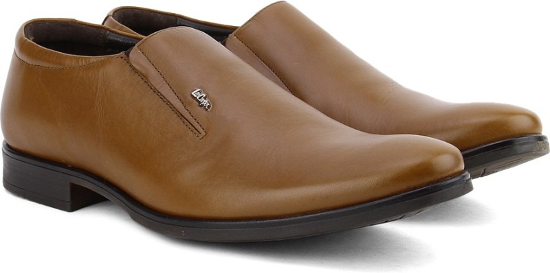 Lee Cooper Men Slip On ShoesTan