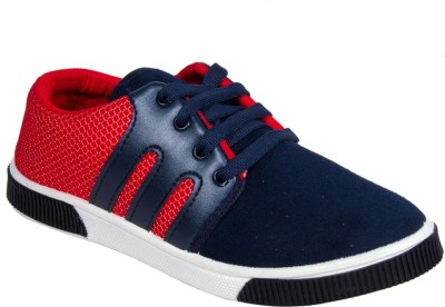 Star Ab Br1bluered Canvas Shoes