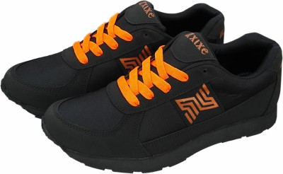XIXE BLACK BOR MARATHON FITNESS RUNNING SPORTS Corporate Casuals, Outdoors, Party Wear, Dancing Shoes, Casuals, Sneakers(Black)