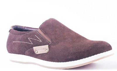 Tanny Shoes Attractive Brown Casual Shoes