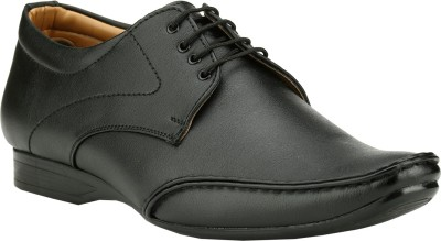 Step Mark FFS-805-BLACK Lace Up Shoes